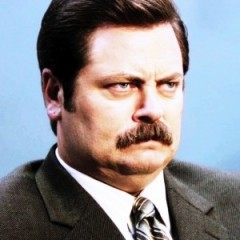 Ron Swanson Was Almost 'Wolverine'?