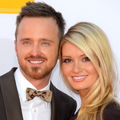 Romantic Words Aaron Paul Tells His Wife Every Day