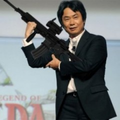 Miyamoto Wants To Make An FPS Game
