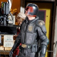 New Set Photos from Judge Dredd