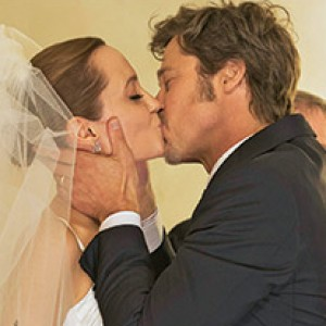 Brad Pitt & Angelina Jolie's Official Wedding Photos