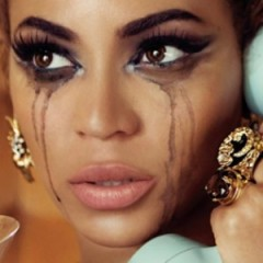 Beyonce Posts A Photo Of Herself Crying