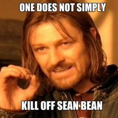 Hilarious Sean Bean Death Reel