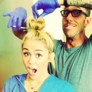 Miley Cyrus Chops Off Her Hair