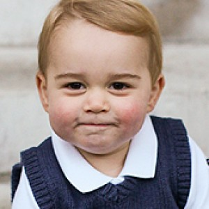 Will and Kate Take Prince George to See Santa