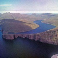 Lake Sorvagsvatn of Faroe Islands is a Massive Optical Illusion