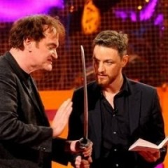 Tarantino Directs James McAvoy in Macbeth