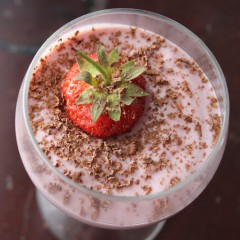 Delicious Strawberry Mousse Made Right In Your Blender