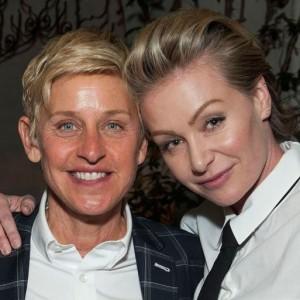 Ellen & Portia Living Separate Lives
