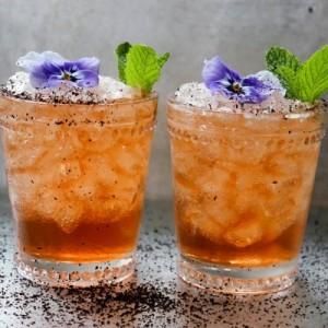 Earl Grey Mint Julep Cocktail