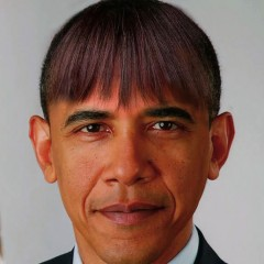 President Obama's Interesting New Hairstyle