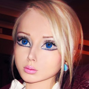 Human Barbie Before & After Surgery