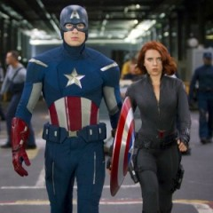See Captain America Fight Alongside Black Widow On Set