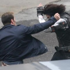 Captain America vs. Winter Soldier Close Up