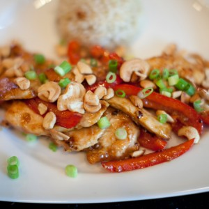 Chinese Style Cashew Chicken In 20 Minutes
