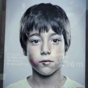 Innovative Ad Hides an Anti-Abuse Message Only Visible to Kids
