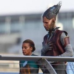Guardians of the Galaxy Set Photos Reveal Nova Corps & Aliens