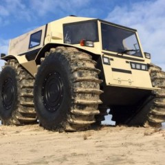The 'Sherp ATV' is the Life-Size Tonka Truck You've Been Craving