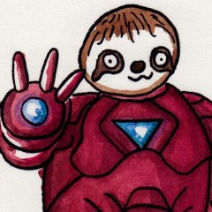 Film & TV Characters Drawn As Sloths