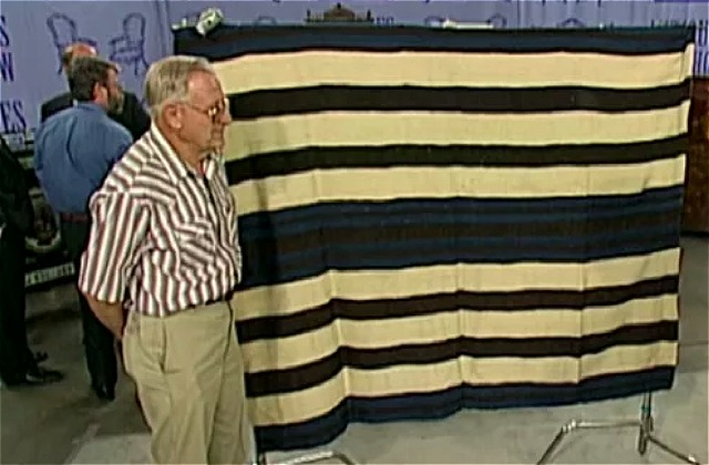What Happened To The Iconic Navajo Blanket From Antiques Roadshow?