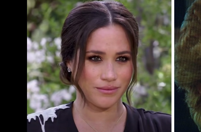 Meghan Markle's Dress Is Causing A Stir Ahead Of Oprah Interview